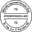 Officially approved Porsche Club 72